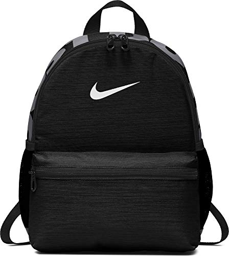 Nike Y NK BRSLA JDI Mini BKPK Mochila, Juventud Unisex, Black/White, One Size
