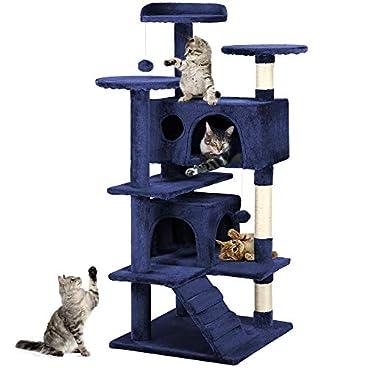 Yaheetech Cat Scratching Post Tower Tree Pet Palace Cat Palace