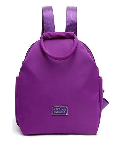 Keshi Nylon neuer Stil Damen accessories hohe Qualität Einfache Tasche Schultertasche Freizeitrucksack Tasche Rucksäcke Lila
