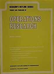 Operations Research (Schaum's Outlines) by Richard Bronson (1981-12-01)