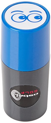 Asbri Golf Eyes Ball Stamper - Blue
