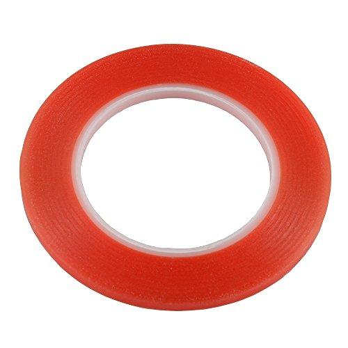4mm 3m Rot starkes Sticky Klebstoff Tape für Samsung iPhone iPad Smart Handy Tablet Kamera Objektiv Display Bezel Fix