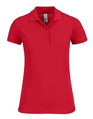 Polo Safran Timeless / Women, Farbe:RED, Größe:XS