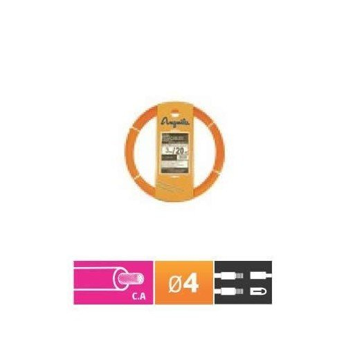 Foto de Anguila - Pasacables cordón+nylon 4mm 10m naranja