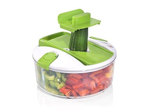Genius Salat Chef Smart Set 6-tlg. Salat Obst Gemüse Schneider Schäler Hobel NEU, Farbe:orange - 3