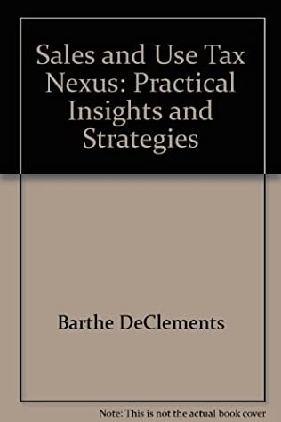 book cover of Sales and Use Tax Nexus