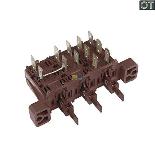 ORIGINAL Electrolux AEG 152248301 1522483013 Tastenschalter Schalter 3-fach Knopf Bedienfeld Spülmaschine Geschirrspüler auch Juno u. a. 91174300200, 91174301500