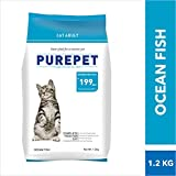 Purepet Adult Cat Food, Ocean Fish, 1.2 kg