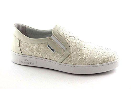 NERO GIARDINI 15271 bianco scarpe donna sportive sneakers slip-on 36