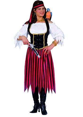 Ciao Piratin Kostüm Damen Erwachsene, Größe M