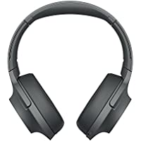 Sony WHH900N - Auriculares de Diadema inalámbricos (H.Ear, Hi-Res Audio, cancelación de Ruido, Sense Engine, Bluetooth, Compatible con aplicación Headphones Connect) Negro