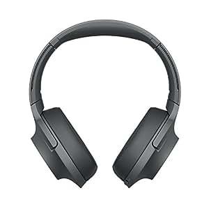 Sony WHH900N Cuffie Over-Hear Stereo, Bluetooth, Digital Noise Cancelling, Hi-Res Audio, Controllo Touch, con Microfono Integrato, Colore Nero