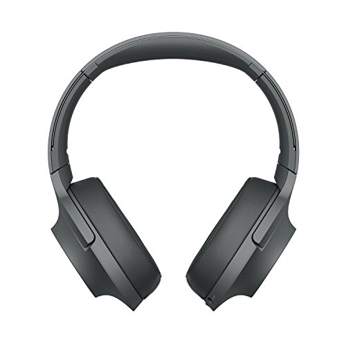 Foto Sony WHH900N Cuffie Over-Hear Stereo, Bluetooth, Digital Noise Cancelling, Hi-Res Audio, Controllo Touch, con Microfono Integrato, Colore Nero