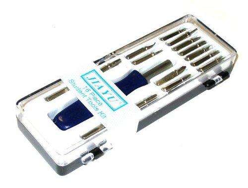 Preisvergleich Produktbild 16-teiliges Werkzeug Mini Bit Set für Handy Nintendo Torx Tri-Wing Triwing Kreuz Schlitz