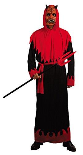 Costume diavolo uomo Halloween Taglia Unica