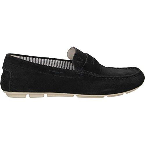 Armani Jeans 935588cc555, Mocassins (loafers) homme Bleu