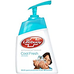 Lifebuoy Cool Fresh Hand Wash, 215 ml