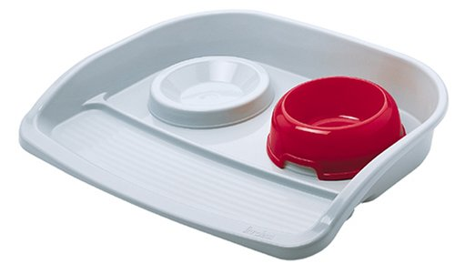 Ferplast Dog Bowls Double Diner Plastic Lindo