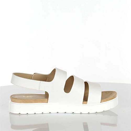 LUMBERJACK Sandal White Mystic SW11806-001 Weiß