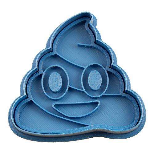 Cuticuter Caca de whattsapp Moule de Biscuit, Bleu, 8 x 7 x 1.5 cm