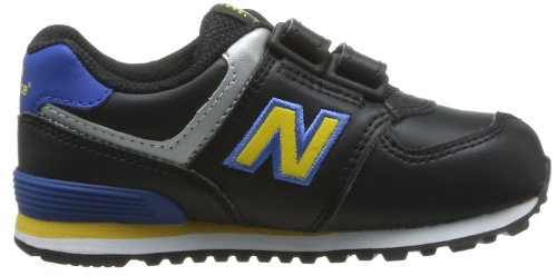 New Balance Kv574 M (Infant, Baskets mode mixte enfant Noir (Ybi Black/Yellow)