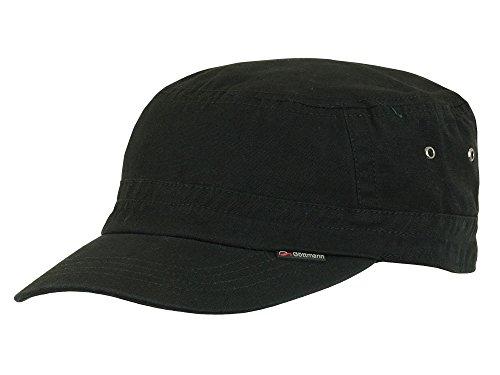 CORTEZ Nero Army Cap Kubacap di cotone Göttmann