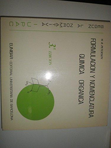 Formulacion y nomenclatura quimica organica