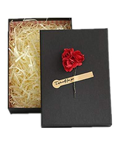 VIDOO 5Pcs Universal Holiday Geschenkbox Kraft Papierbox Weltschirppchen Geschenkbox Mit Handtasche-Lila Rose (Schwarz)
