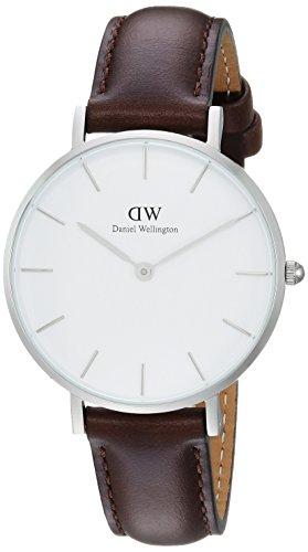Daniel Wellington Reloj Analógico para Hombre de Cuarzo con Correa en Cuero DW00100183