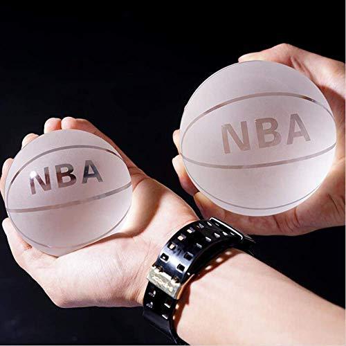 Kzfs Kristallkugel Klar Asiatische Quarz Glas Kristall Basketball Kugel Fengshui Geschenk Briefbeschwerer Home Decoration 60mm NBA-Ball - Quarz-kristall-globus