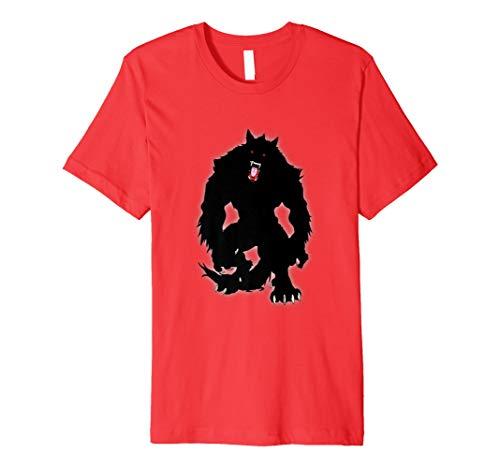 Schwarz Shuck Werwolf T-Shirt Amazing Halloween Kostüm Idee