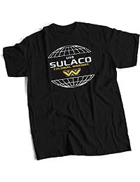 bybulldog® USS Sulaco Colonial Marines Premium Heavyweight T Shirt 13 Colours Small to 3XL Alien Conestoga Class