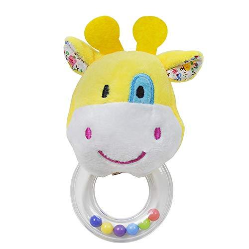 LJPzhp-Toy Tierkinderwagen-Spielwaren, 4 Art-Säuglingsbaby-Kinderwind-Bell-Ton-Spielwaren for Kinder (Farbe : B, Größe : Picture Size) -