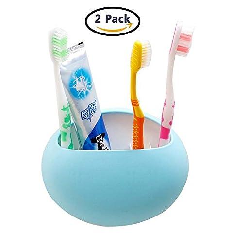 Support pour brosses à dents Organiseur de cuisine de salle de bain ventouse support mural pour brosse à dents support de rack de stockage pour stylo Peigne Table de maquillage