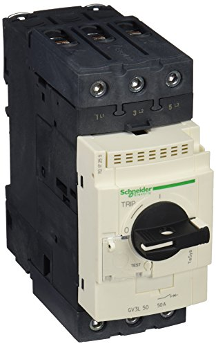 Schneider Electric GV3L50 Tesys Gv3, Disyuntor Magnético, 50 A, Conectores Everlink Btr