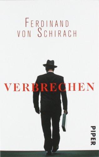 Buchseite und Rezensionen zu 'Verbrechen: Stories' von Ferdinand von Schirach