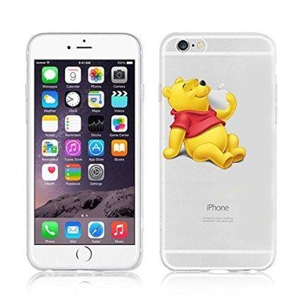 Disney Winnie The Pooh & Friends Coque souple en TPU pour Apple iPhone 5/5S et 5 Plus/S Plus., plastique, WINNIE .3, Apple iPhone 5/5s