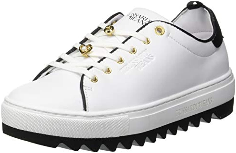 Trussardi Jeans scarpe da ginnastica Pins And Faux Pearls, Scarpe da Ginnastica Donna | Qualità E Quantità Garantita  | Scolaro/Signora Scarpa