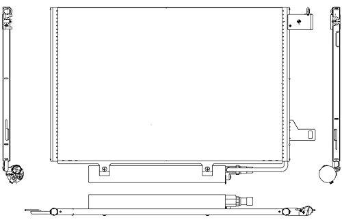 Preisvergleich Produktbild BEHR HELLA SERVICE 8FC 351 301-681 *** PREMIUM LINE *** Kondensator,  Klimaanlage