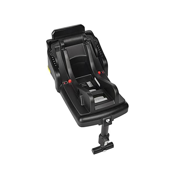 Baby Jogger City Go i-Size Iso-fix Car Seat Base,  Black Baby Jogger Compatible with baby jogger city go i-size infant car seat. Secure isofix connectors plus colour-coded red/green indicators ensure both the base and seat are properly installed, minimising the risk of incorrect installation. Load leg prevents the seat from shifting when rear facing. 1