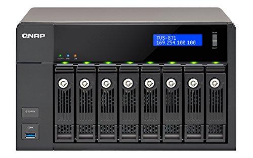 """QNAP TVS-871-i7-16G  NAS/ DiskStation """" TVS-682-PT-16G / 8-Bay / SATA 6G /  4 x GbE LAN"""""""