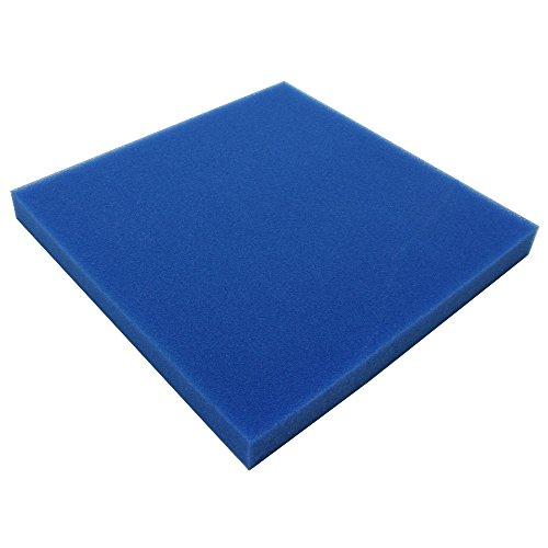 JBL 62561 Mehrweg-Schaumstoff für Aquarienfilter gegen alle Wassertrübungen, Filterschaum blau fein