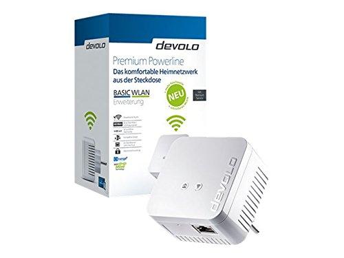DEVOLO Premium Powerline Basic WLAN Erweiterung V2 550 WiFi DLAN Adapter