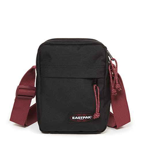 Eastpak The One Sac bandoulière, 21 cm, 2.5 L, Noir (Black-Red)