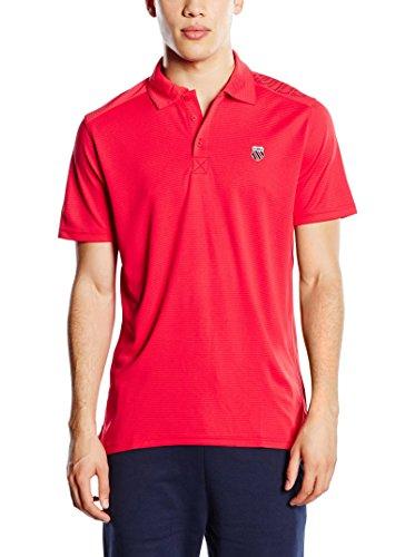 Preisvergleich Produktbild K-Swiss Poloshirt Bigshot II rot L