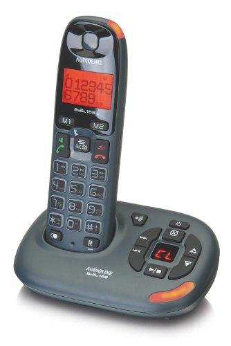 Audioline Bigtel 158 Schnurlostelefon mit Anrufbeantworter (DECT)