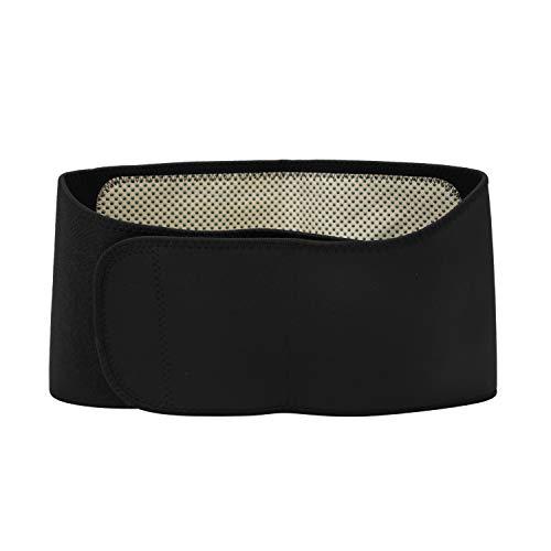 Nierenwärmer Magnetischer Wärmegürtel Unisex Bauchgürtel mit Magnet Rückenwärmer Winter Verstellbarer Taillengürtel Nierenschutz Damen Wärmeschutz Herren Taille Unterstützung mit Kletterverschluss