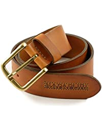 Belt in Leather Napapijri Pyrmont cognac Size 2