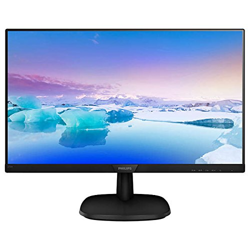 Philips 273V7QDSB/00 60 cm (27 Zoll) Monitor (VGA, DVI, HDMI, 5ms Reaktionszeit, 1920 x 1080, 60 Hz) schwarz
