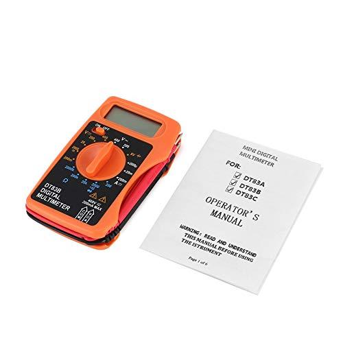ARDUTE DT83B Pocket Digital Multimeter AC/DC Ohmmeter Diode Resistence Continuity